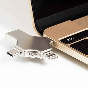OTG USB Drive 4-in-1
